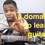Les 3 domaines d'apprentissage de la guitare